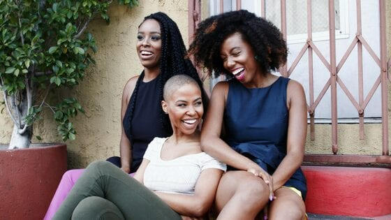 black-women-sisters-laughing